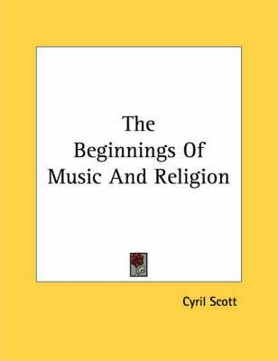 The Beginnings of Music and Religion