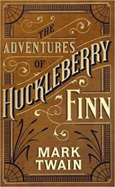 Adventures of Huckleberry Finn (Barnes & Noble Single Volume Leatherbound Classics) Cover Image