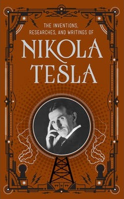 Image result for book cover inventions, researches and writing of nikola tesla