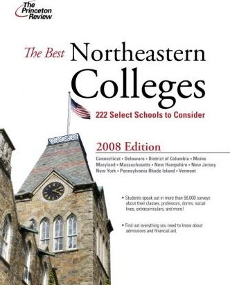 The Best Northeastern Colleges, 2008