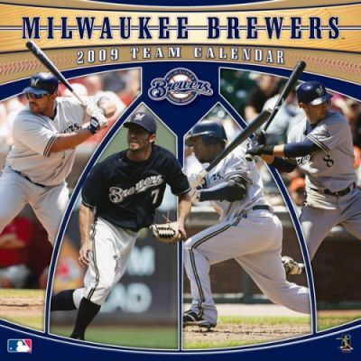Milwaukee Brewers 2009 Team Calendar