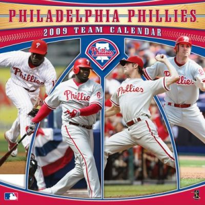 MLB Philadelphia Phillies 2009 Team Calendar
