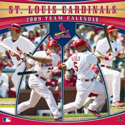 MLB St. Louis Cardinals 2009 Team Calendar