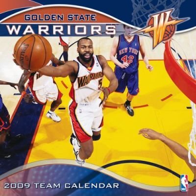 NBA Golden State Warriors 2009 Team Calendar