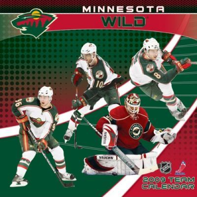 NHL Minnesota Wild 2009 Team Calendar