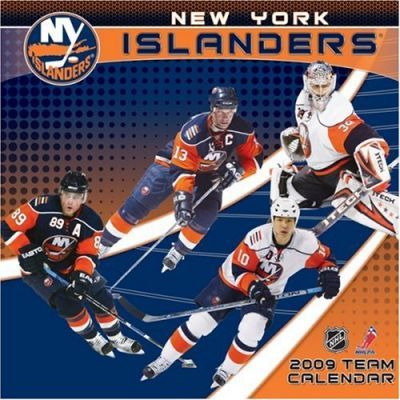 NHL New York Islanders 2009 Team Calendar