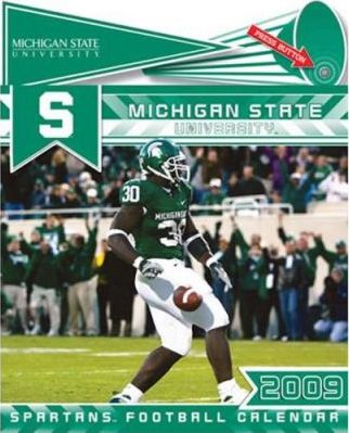 Michigan State University Spartans Football 2009 Calendar with Fight Song