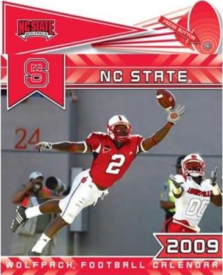 College NC State Wolfpack 2009 Calendar Fight Song