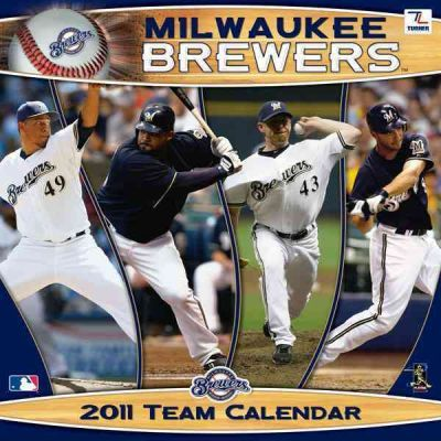 Milwaukee Brewers 2011 Team Calendar