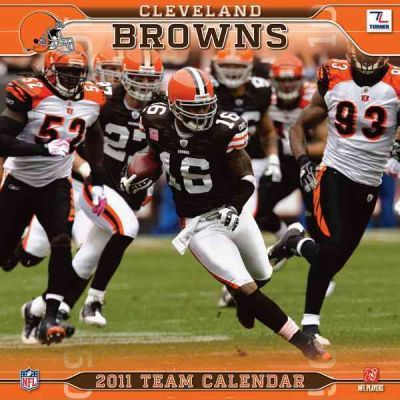 Cleveland Browns Team 2011 Calendar