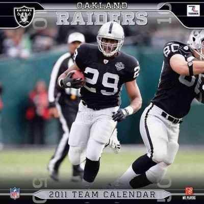 Oakland Raiders Team 2011 Calendar