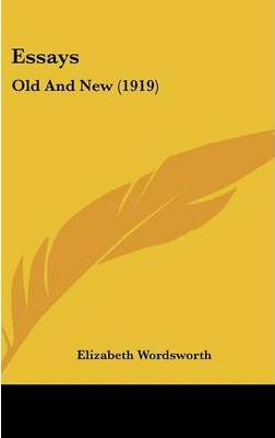 Essays  Old and New (1919)