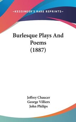 Burlesque Plays and Poems (1887)