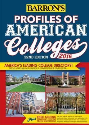 Profiles of American Colleges 2016