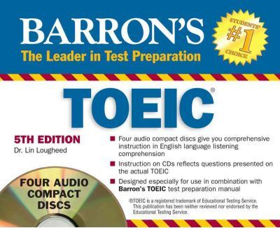 Barrons Toeic Test 5th Ed Book Only