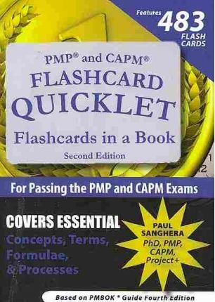 PMP and CAPM Flashcard Quicklet