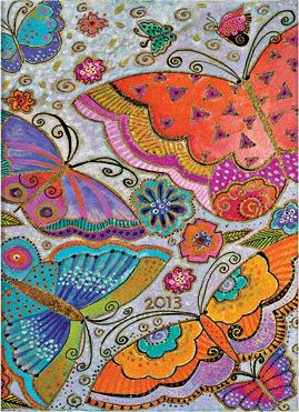 2013 FLUTTERBYES MICRO DIARY