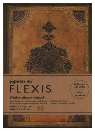 Safavid Binding Art Paperblanks Flexis Safavid Softcover Notebook Ultra Lined