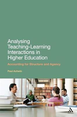 Analysing Teaching-Learning Interactions in Higher Education
