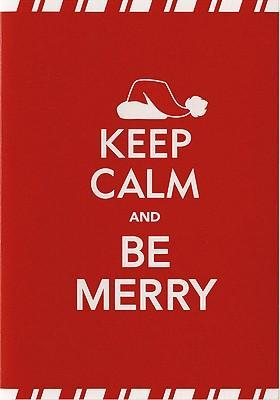 Mini Boxed Christmas Cards: Keep Calm and be Merry