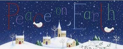 Panoramic Boxed Christmas Cards: Peace on Earth