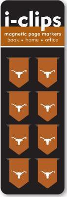 University of Texas at Austin I-Clips Magnetic Page Markers