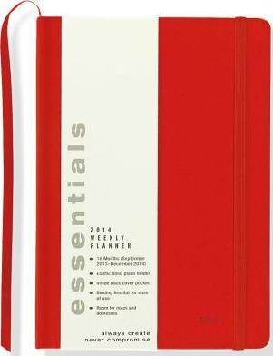 2014 Sm Essentials Red Calendar