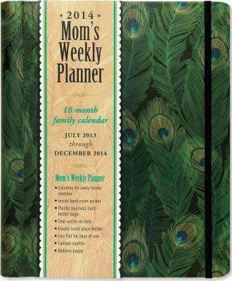 2014 Mom's Weekly Planner Feathers