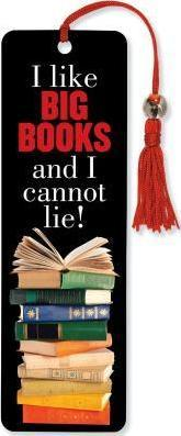 Beaded Bkmk Big Books/I Cannot Lie