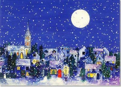 Midnight Moon Deluxe Boxed Holiday Cards