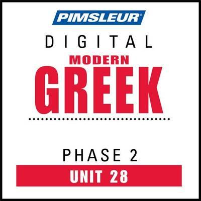 Pimsleur Greek (Modern) Level 2 Lesson 28 MP3 : Pimsleur