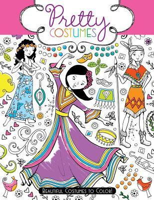 Pretty Costumes : Beautiful Costumes to Color!