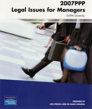 2007PPP Legal Issues for Managers