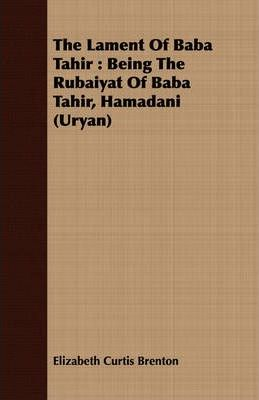 The Lament Of Baba Tahir Cover Image