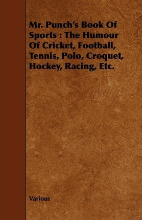 Mr. Punch's Book Of Sports Cover Image