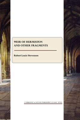 Weir of Hermiston and other fragments Cover Image