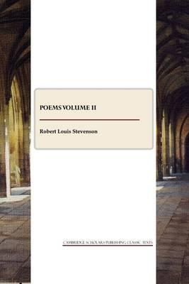 Poems Volume II Cover Image