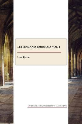 Letters and Journals vol. I Cover Image