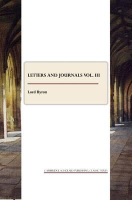 Letters and Journals vol. III Cover Image