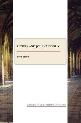 Letters and Journals vol. V Cover Image