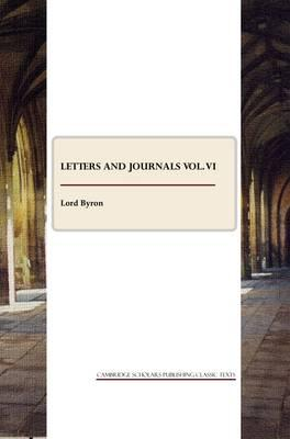 Letters and Journals vol. VI Cover Image