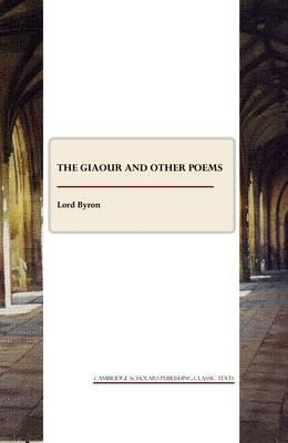 The Giaour and other poems Cover Image