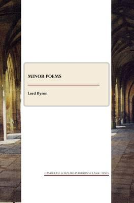 Minor Poems Cover Image