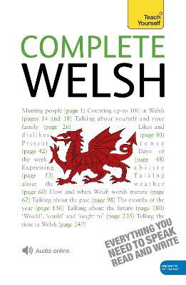 Complete Welsh Beginner to Intermediate Book and Audio Course : Learn to Read, Write, Speak and Understand a New Language with Teach Yourself