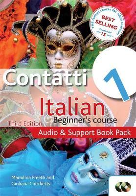 Contatti 1 Italian Beginner's Course 3rd Edition : Audio and Support Book Pack