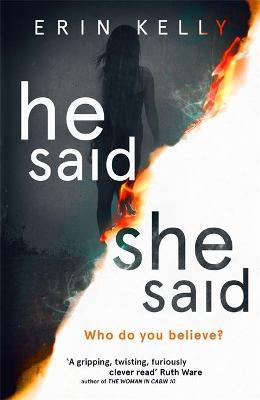 He Said/She Said : the must-read bestselling suspense novel of the year