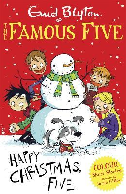 famous five colour short stories happy christmas five