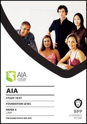 AIA 4 Law  Study Text