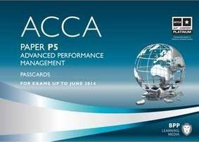 ACCA - P5 Advanced Performance Management: Paper P5
