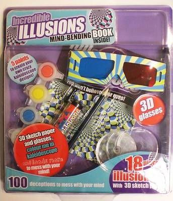 Brain Games and Illusions Large Blister Pack